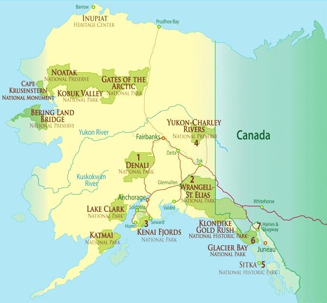 Other National Parks In Alaska