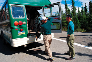 Denali National Park Camper Bus